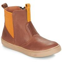鞋子 男孩 短筒靴 Citrouille et Compagnie JRYNE 驼色 / 黄色