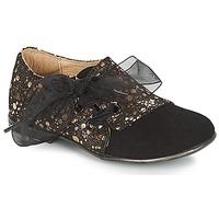 鞋子 女孩 德比 Citrouille et Compagnie JETTRA 黑色 / 古銅色