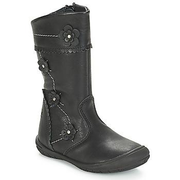 鞋子 女孩 都市靴 Citrouille et Compagnie JAMATIS 黑色