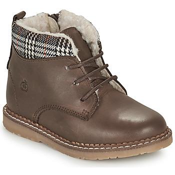 鞋子 男孩 短筒靴 Citrouille et Compagnie JAMBOUT 棕色