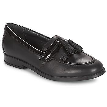 鞋子 女孩 皮便鞋 Start Rite LOAFER PRI 黑色