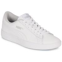 鞋子 儿童 球鞋基本款 Puma 彪马 SMASH 白色