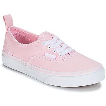 鞋子 女孩 球鞋基本款 Vans 范斯 UY AUTHENTIC 玫瑰色
