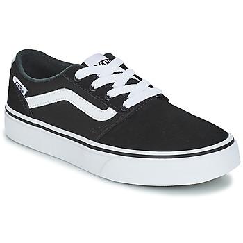 鞋子 儿童 球鞋基本款 Vans 范斯 VYT CHAPM STRIP 黑色