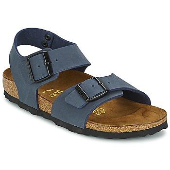 鞋子 儿童 凉鞋 Birkenstock 勃肯 NEW YORK 海蓝色