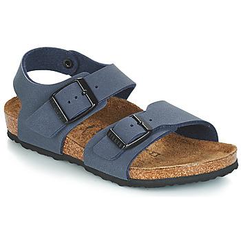 鞋子 儿童 凉鞋 Birkenstock 勃肯 NEW YORK 蓝色