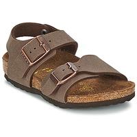 鞋子 儿童 凉鞋 Birkenstock 勃肯 NEW YORK 摩卡色