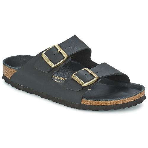 鞋子 女士 休闲凉拖/沙滩鞋 Birkenstock 勃肯 ARIZONA 黑色 / 金色