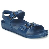 鞋子 儿童 凉鞋 Birkenstock 勃肯 RIO EVA 海蓝色