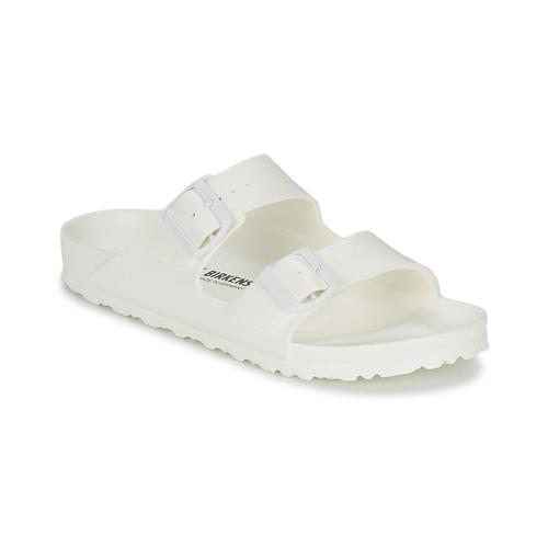鞋子 女士 休闲凉拖/沙滩鞋 Birkenstock 勃肯 ARIZONA EVA 白色