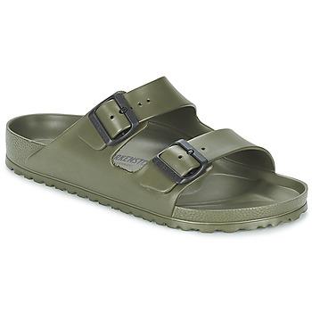 鞋子 男士 休闲凉拖/沙滩鞋 Birkenstock 勃肯 ARIZONA 卡其色
