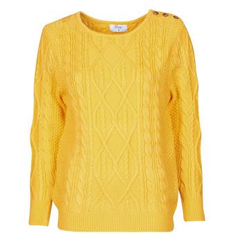 衣服 女士 羊毛衫 Betty London JEDRO 黄色