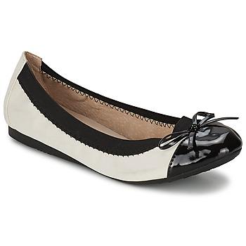 鞋子 女士 平底鞋 Moony Mood VADOUMI 白色 / 黑色