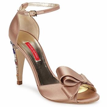 鞋子 女士 凉鞋 Charles Jourdan MANRAY 沙色