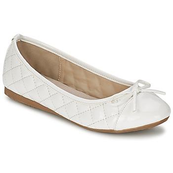 鞋子 女士 平底鞋 Moony Mood VOHEMA 白色 / Verni