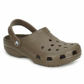 鞋子 洞洞鞋/圆头拖鞋 crocs 卡骆驰 CLASSIC CAYMAN 巧克力色