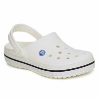 鞋子 洞洞鞋/圆头拖鞋 crocs 卡骆驰 CROCBAND 白色