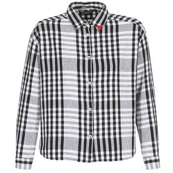 衣服 女士 衬衣/长袖衬衫 Scotch & Soda FRINDA 黑色 / 白色