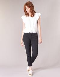 衣服 女士 工装裤 Maison Scotch ZERATRE 黑色 / 白色