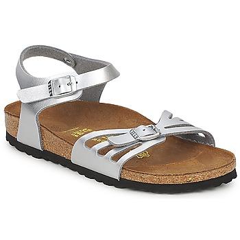鞋子 女士 凉鞋 Birkenstock 勃肯 BALI 银灰色