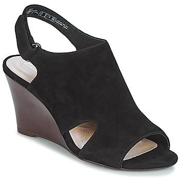 鞋子 女士 涼鞋 Clarks 其樂 Raven Mist 黑色 / Sde