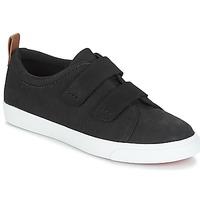鞋子 女士 球鞋基本款 Clarks 其乐 Glove Daisy 黑色 / Combi / Nbk
