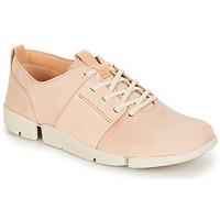 鞋子 女士 球鞋基本款 Clarks 其乐 Tri Caitlin 裸色 / 粉色
