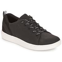 鞋子 女士 球鞋基本款 Clarks 其乐 Step Verve 黑色