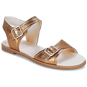 鞋子 女士 涼鞋 Clarks 其樂 Bay Primrose 古銅色 / Metallic