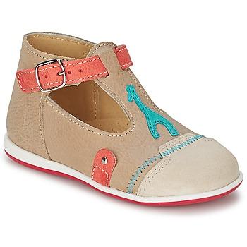 鞋子 儿童 凉鞋 Citrouille et Compagnie GALENE 米色 / 灰褐色
