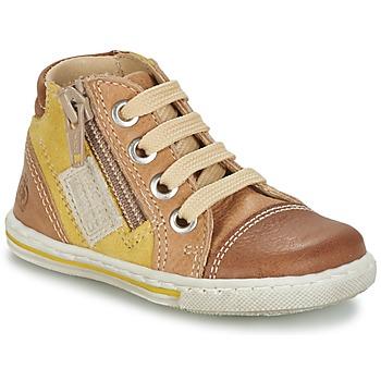 鞋子 儿童 高帮鞋 Citrouille et Compagnie MIXINE 棕色