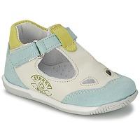 鞋子 男孩 凉鞋 Citrouille et Compagnie XOULOU 白色 / 蓝色 / 绿色
