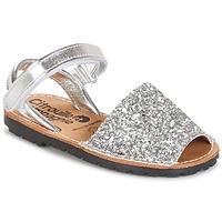 鞋子 女孩 凉鞋 Citrouille et Compagnie SQUOUBEL 银灰色