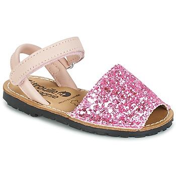 鞋子 女孩 凉鞋 Citrouille et Compagnie SQUOUBEL 紫红色