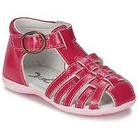鞋子 女孩 凉鞋 Citrouille et Compagnie TRAMELLE 紫红色