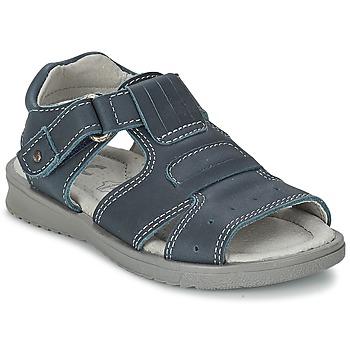 鞋子 男孩 凉鞋 Citrouille et Compagnie DERFO 海蓝色