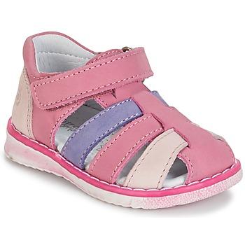 鞋子 女孩 涼鞋 Citrouille et Compagnie FRINOUI 淡紫色 / 玫瑰色 / 紫紅色