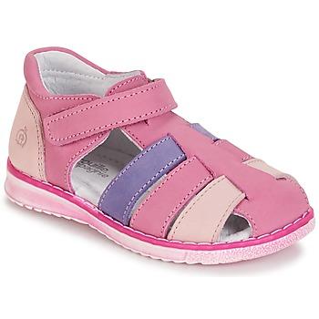 鞋子 女孩 凉鞋 Citrouille et Compagnie FRINOUI 淡紫色 / 玫瑰色 / 紫红色