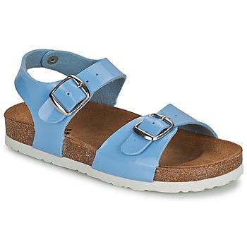 鞋子 女孩 凉鞋 Citrouille et Compagnie INIALE 蓝色