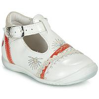 鞋子 女孩 平底鞋 GBB MARINA VVN NACRE-CORAIL DPF/KEZIA