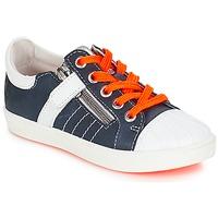 鞋子 男孩 球鞋基本款 GBB MAXANCE Vte / 海蓝色-白色