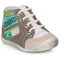 鞋子 男孩 短筒靴 GBB PANCRACE 白色 / 绿色 / 灰褐色