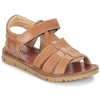 鞋子 男孩 球鞋基本款 GBB PATHE Vte / 棕色