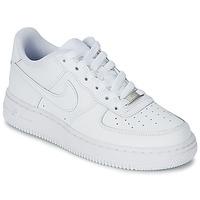 鞋子 儿童 球鞋基本款 Nike 耐克 AIR FORCE 1 白色
