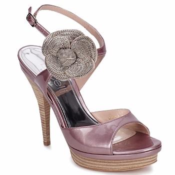 鞋子 女士 凉鞋 Fericelli MINKA 漆皮 / 浅杏色