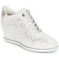 鞋子 女士 高帮鞋 Geox 健乐士 D ILLUSION 白色