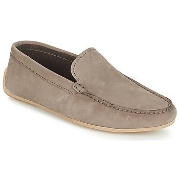 鞋子 男士 皮便鞋 Clarks 其乐 Reazor Edge Sage 裸色