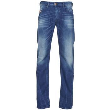 衣服 男士 紧身牛仔裤 Diesel 迪赛尔 BELTHER 蓝色