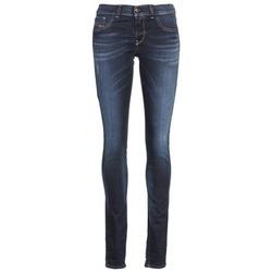 衣服 女士 紧身牛仔裤 Diesel 迪赛尔 LIVIER 蓝色