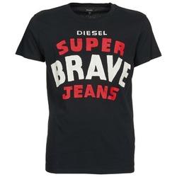 衣服 男士 短袖体恤 Diesel 迪赛尔 T-ASTERIOS 黑色
